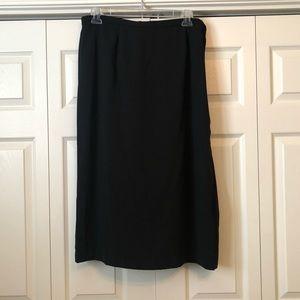 Dresses & Skirts - Women's Plus Basic Black Long Maxi Skirt